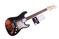 Willie Nelson Autographed Signed Airbrushed Guitar  PSA/DNA AFTAL