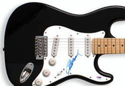 Clint Eastwood Autographed Signed Guitar PSA  COA