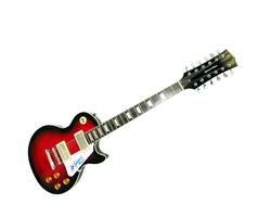 Kiss Ace Frehley Autographed Signed 12string Guitar PSA AFTAL
