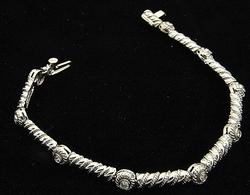 Brilliant 14kt Gold 0.50ctw Diamond Bracelet