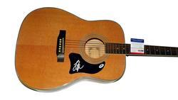 Lee Ann Womack Autographed Signed Acoustic Guitar Psa/Dna