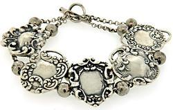 Vintage Foree Sterling Slide Bracelet
