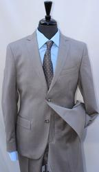 Hand Some Tan Color Italian Made Slim Fit Suit
