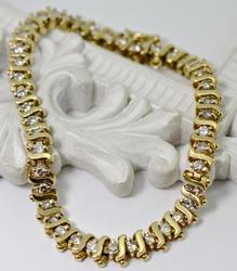 Classic S Link Diamond 14K Bracelet