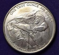 Pan American Silver Corp one troy oz
