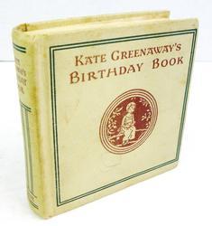 Antique Kate Greenaway's Birthday Book
