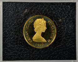 1975 Gem Cameo Proof Caman Island $100 Gold Piece