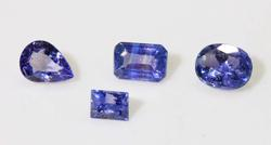 Rare Natural Color Change Sapphire - Lot of 4