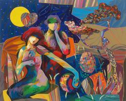 Dazzling Original Art by Tadeo