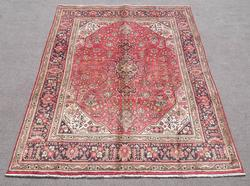 Detailed Semi Antique Persian Tabriz 6.7x9.9
