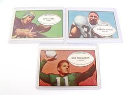 3 Bowman 1953 Football Cards