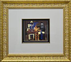 Rare Pablo Picasso Color Pochoir Circa 1930