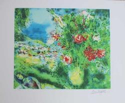 Marc Chagall Paysage