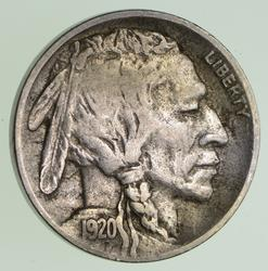 1920-D Buffalo Indian Nickel - Circulated
