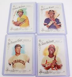 4 Allen & Ginters Topps World Champions Baseball Cards