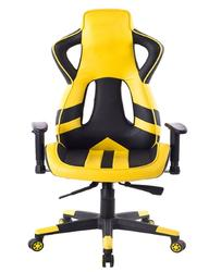 Durable Leather Bucket Seat Reclining Gaming Chair