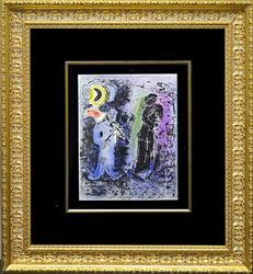 Original Chagall Hand Signed Lithograph