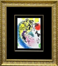 Rare Edition Marc Chagall Original Lithograph