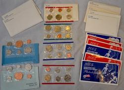 10 Asssorted US Mint Sets