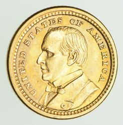 1903 Louisiana Purchase Exposition St Louis Gold Dollar - Circulated