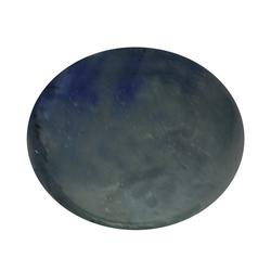 Mirror luster 3.38ct heated only Sapphire cabochon
