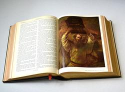 Rare Vintage Holy Bible With Rembrandt Plates