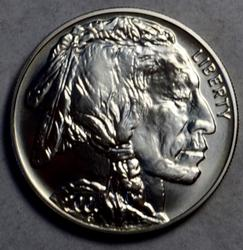 Scarce 2001 American Buffalo Silver Dollar Frosty Uncirculated
