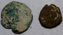 2 Shipwreck Silver Cobbs Spain  Circa 1625- 1650