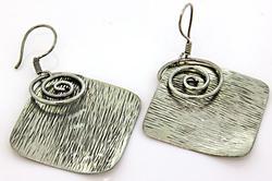 Mexico Sterling Silver Earrings