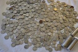 Lot of 670 No Date Buffalo Nickels