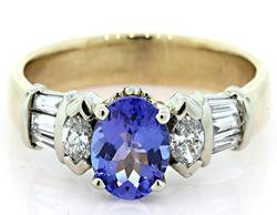 Irresistible Tanzanite & Diamond Ring