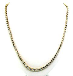 Lavish 8 Carat Diamond Tennis Necklace