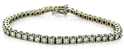 High Quality 6 Carat Diamond Tennis Bracelet