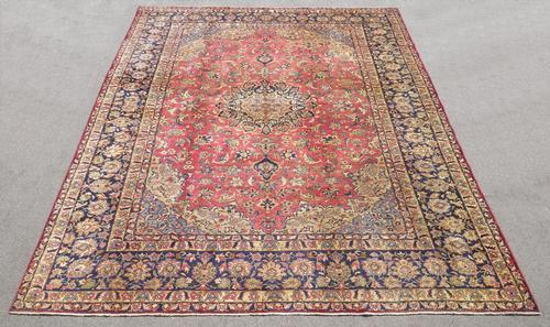 Admirable Semi Antique Persian Najafabad 14.3x10.4