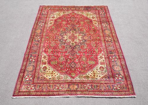 Fascinating Semi Antique Persian Tabriz 9.6x6.7