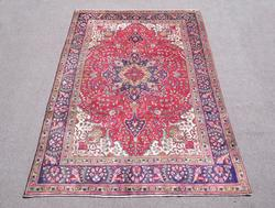 Highly Collectible Semi Antique Persian Tabriz 9.7x6.5