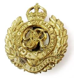 Royal Engineers World War II Hat Badge