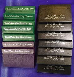 1992-1998 Silver and Clad Proofs Sets