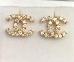 18kt Yellow Gold Earrings