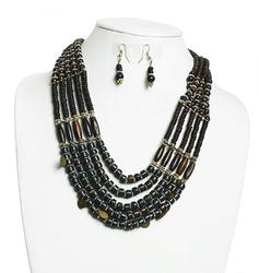 Attractive Beaded Tribal Necklace Set