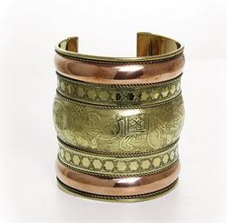 Charming Ethnic Art Handcrafted Beautiful Cuff Bracelet