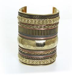 Charming Ethnic Art Handcrafted Beautiful Cuff Bracelet