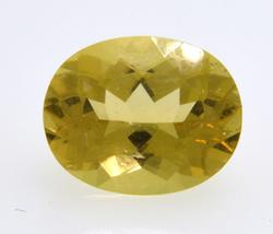 2.4CT Golden Citrine, Oval Cut