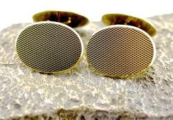 14K Classic Cufflinks made in Germany, 11.4 grams
