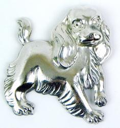 Vintage Lang Sterling Cocker Spaniel Pin