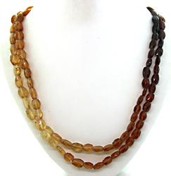 Two Strand Geometric Necklace