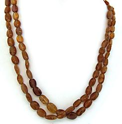 Natural Geometric Necklace