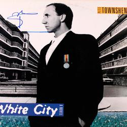 The Who Pete Townshend Signed 12x12 Record