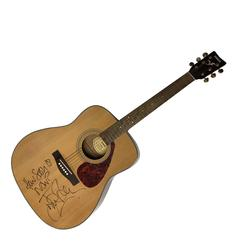 The Smiths Johnny Marr How Soon Is Now Lyric Signed Guitar RACC TS