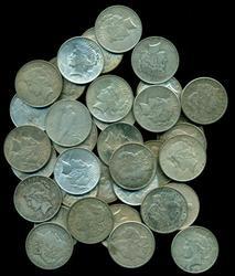 Giant lot of 40 Morgan & Peace Silver Dollars